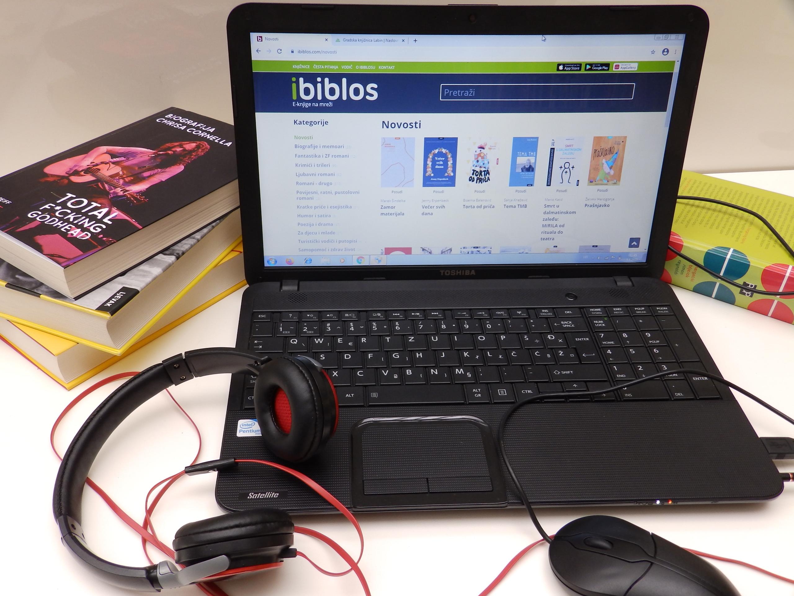 Upis i obnova članstva u Gradskoj knjižnici Labin i online putem