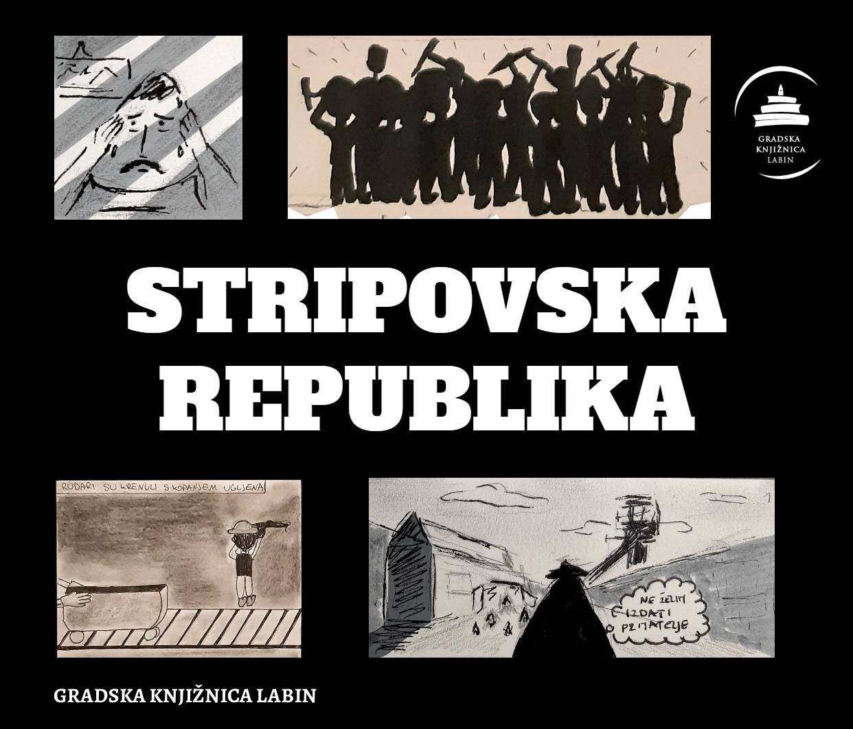 """""""Stripovska republika"""" - Virtualna izložba kratkih stripova"""