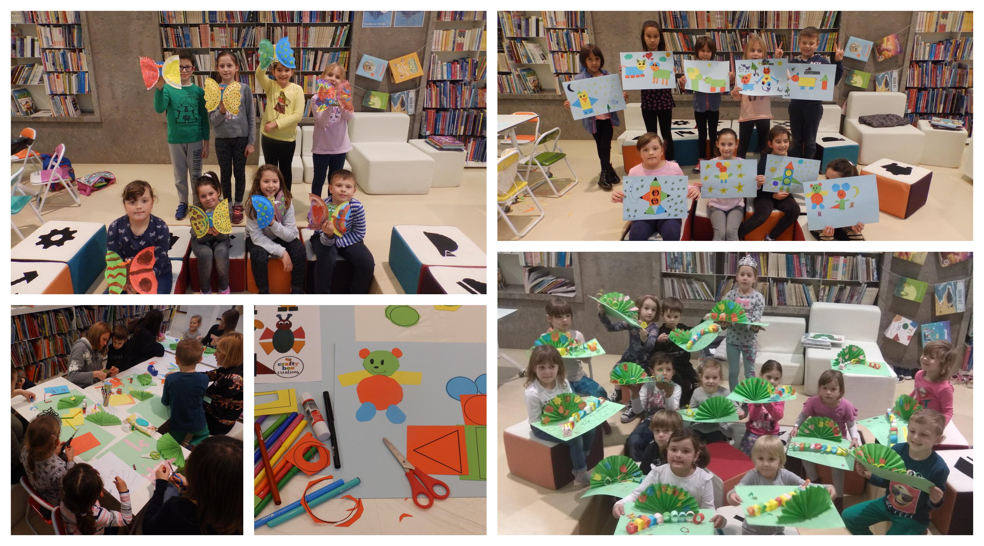 """""""Kreativna košnica"""" ususret Međunarodnom danu dječje knjige"""