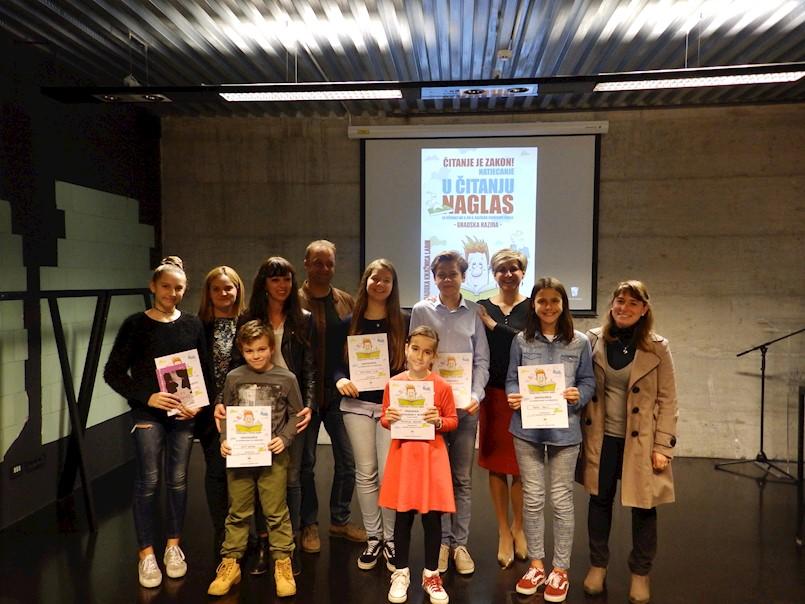 Michelle Böhnke i Fata Bećirović pobjednice su gradskog Natjecanja u čitanju naglas