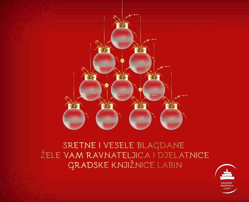 Želimo vam sretne i vesele blagdane!