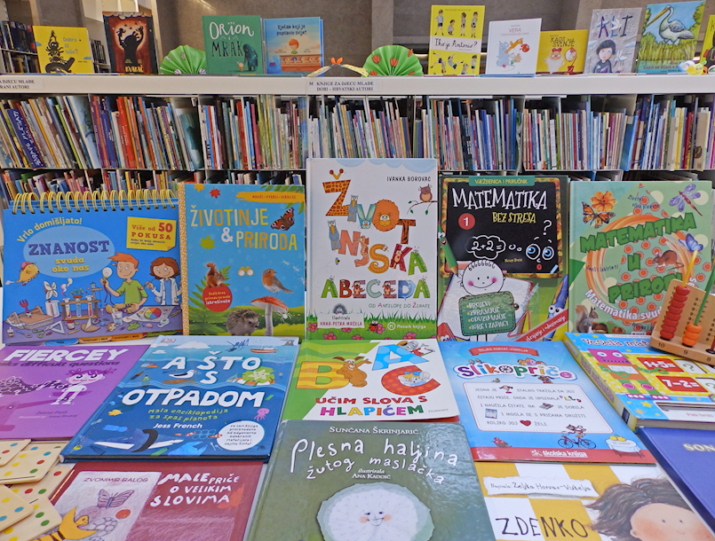 Besplatno učlanjenje u Gradsku knjižnicu Labin za sve prvašiće osnovnih škola Labinštine