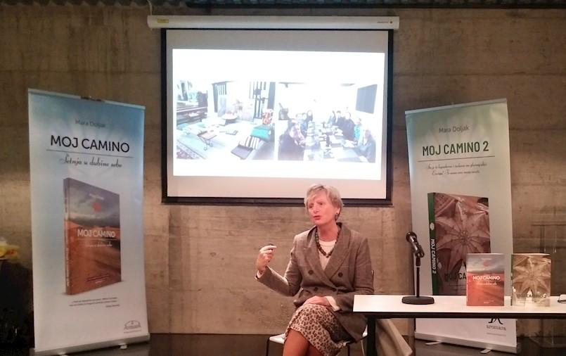 """""""Moj Camino 2"""" –  Predstavljanje knjige i putopisno predavanje"""