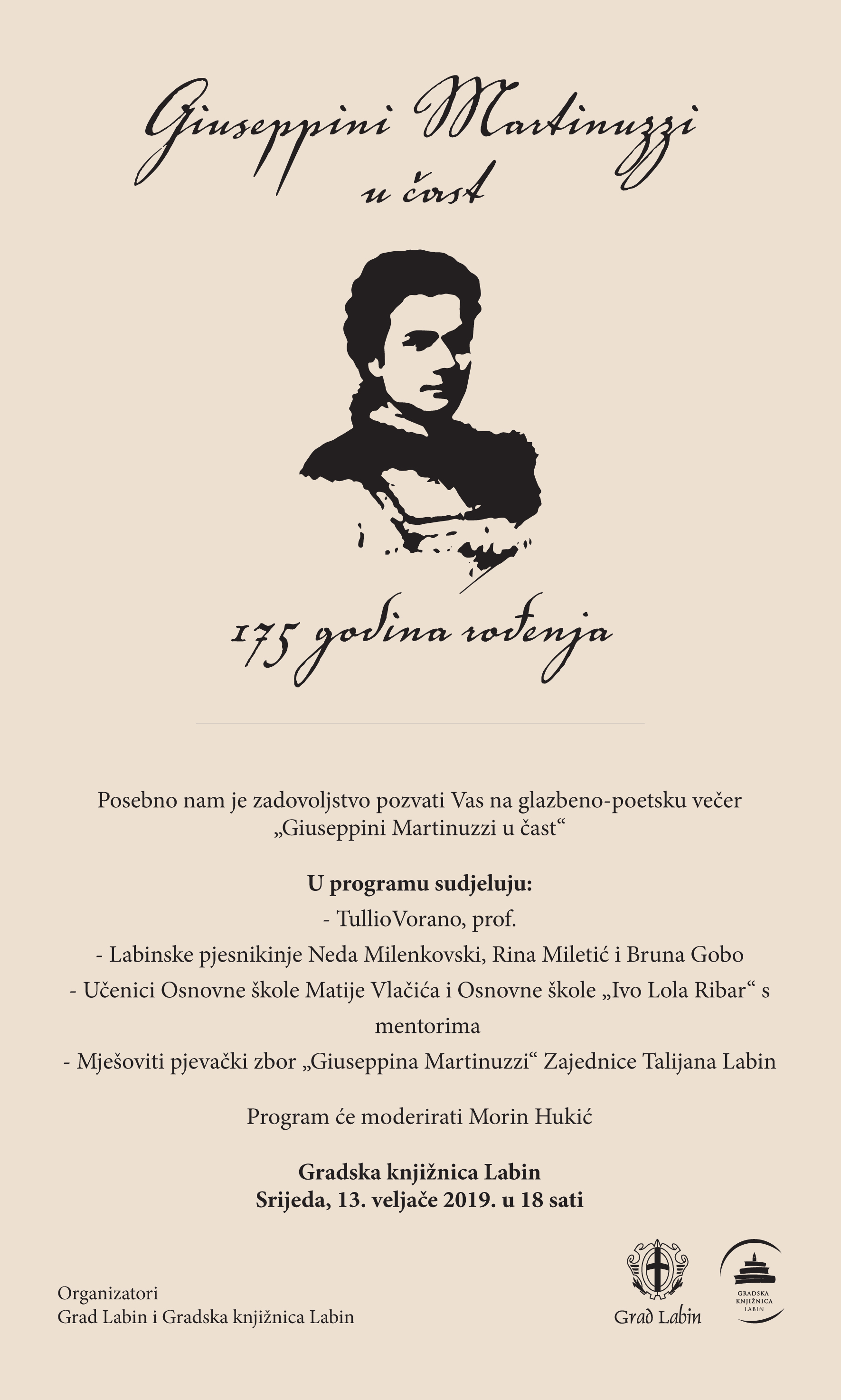 """Giuseppini Martinuzzi u čast"""