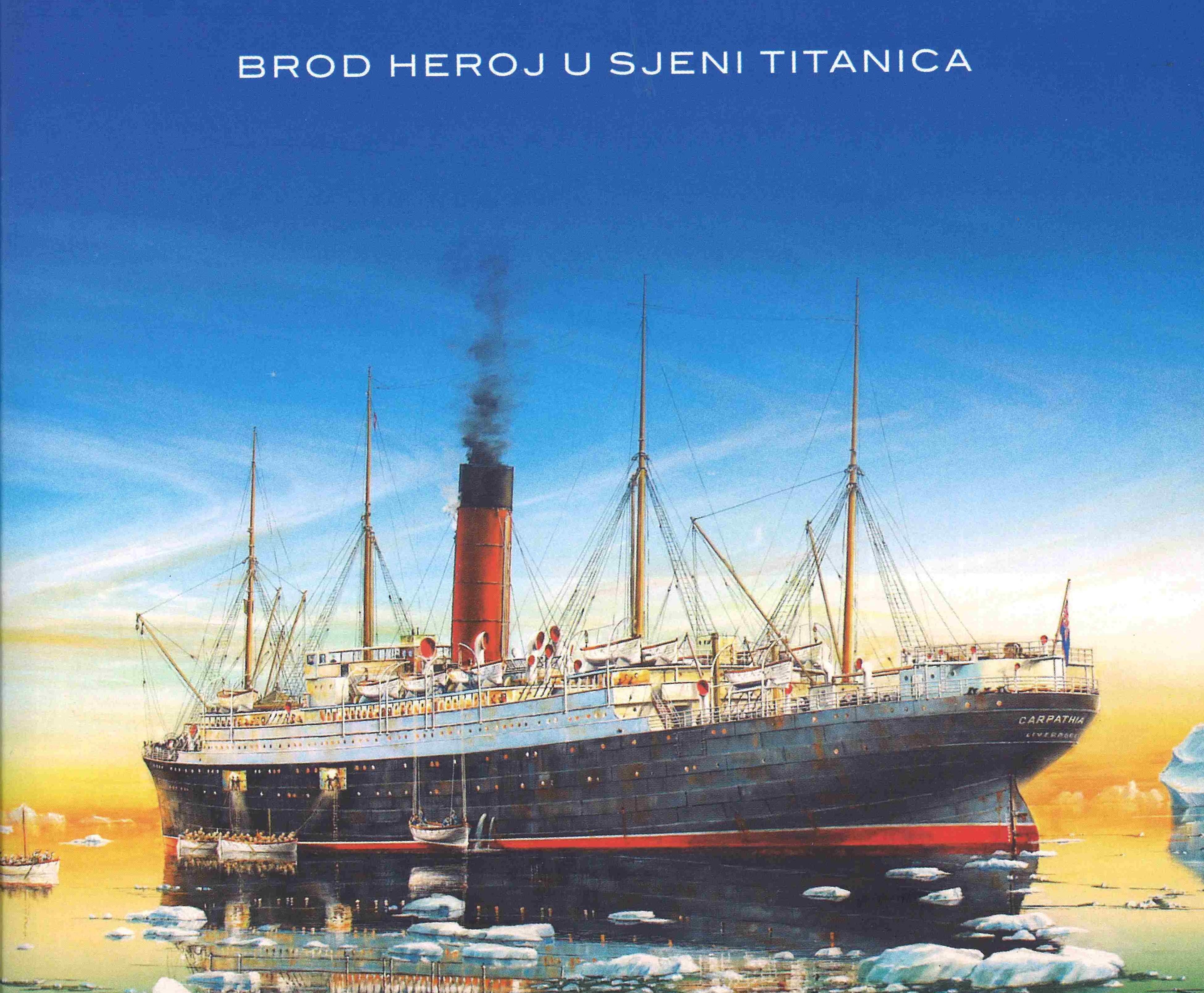 Predstavljanje knjige 'Carpathia – brod-heroj u sjeni Titanica'