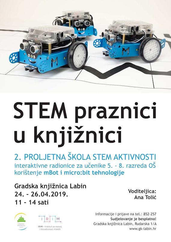 """""""STEM praznici u Knjižnici"""""""