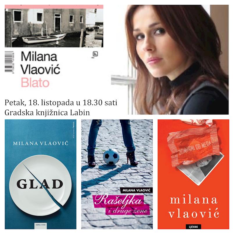 Književni susret s Milanom Vlaović Kovaček