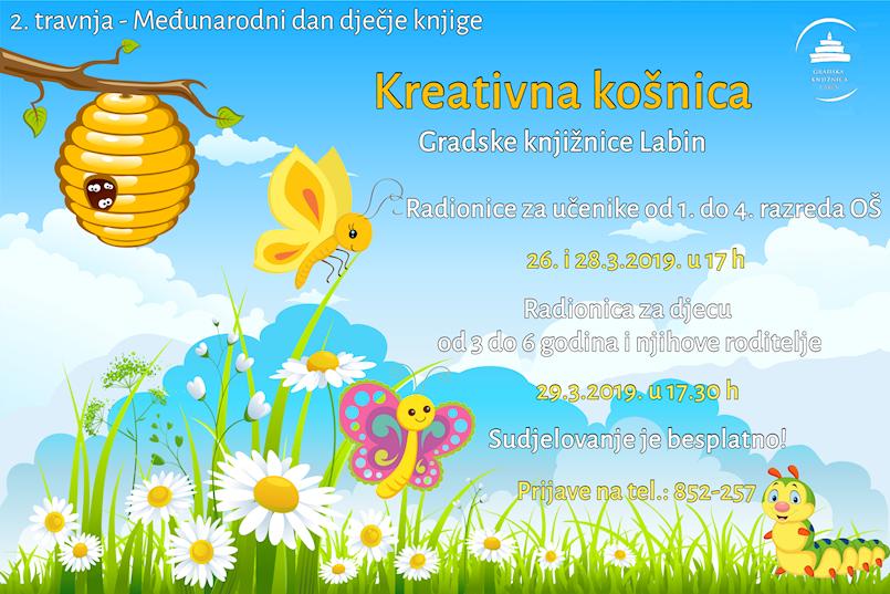 Kreativna košnica povodom Međunarodnog dana dječje knjige