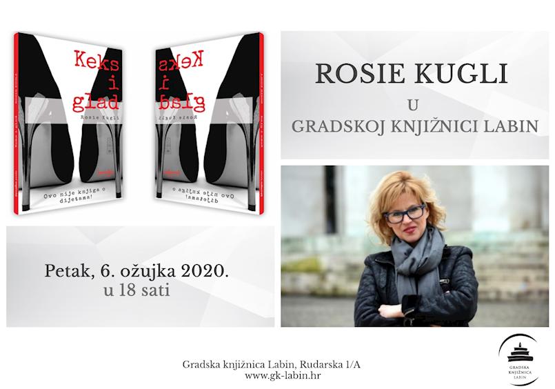 Književnica Rosie Kugli gostuje u Gradskoj knjižnici Labin
